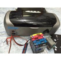 Impressora R200 + Bulk + 2 Bandejas De Cd