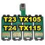 Chip Full Para Bulk Ink Epson Tx 115 Tx105 Tx T23 E T24