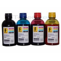 Kit Com 4 Cores De Tinta Formulabs P/ Impressora Epson T24
