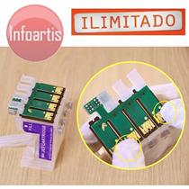 Kit C/ 5 Chip Full Tx200 Tx210 Tx220 Tx400 Tx300f C92 Cx8300