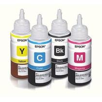 Refil Tinta Original Epson P/ Impressora L110 L200 L355 L365