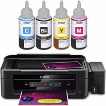Refil Tinta Original Epson P/ Impressora L200 L110 L350 L355