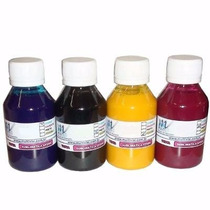 Tinta Sublimatica Para Transfer Mizink 240ml Kit Com 4 Cores