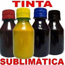 Tinta Sublimatica Para Transfer Mizink 400ml Kit Com 4 Cores