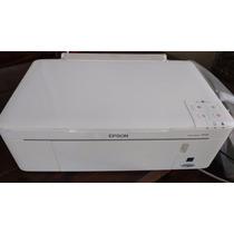 Impressora Multifuncional Epson Tx123 Branca Semi Nova