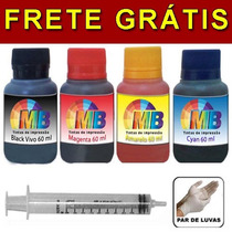 Kit Tinta Recarga Cartucho Impressora Hp Lexmar Frete Gratis