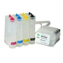 Bulk Ink Completo Hp 7110 A3 C/ Cartuchos E Chip