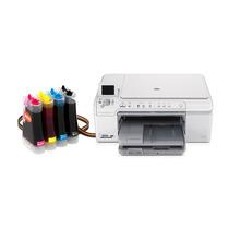 Bulk Ink Para Impressora Hp C5580 Com Anti Refluxo