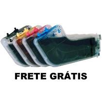 Bulk Ink Hp Cartucho 940 L 8000 E 8500 + 650ml Tinta + Frete