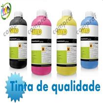 800ml Tinta Impressora Hp Epson, Recarga Cartucho Preto Cor