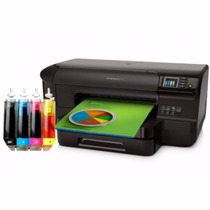 Impressora Hp 8100 C/ Bulk Ink Reservatório 400ml Tinta