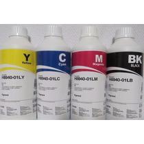 Tinta Pigmentada Hp Color 500ml Preta 1lt 8600/8610/8620