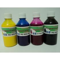 Tinta Pigmentada Para Impressora Hp Pro 8000/8500/8100 250ml