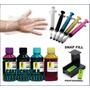 Kit Completo Recarga Cartucho Impressora Hp C/ Snap Fill 122