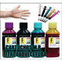 Kit Tinta Recarga Cartucho Impressora Hp - 122 662 60 400ml