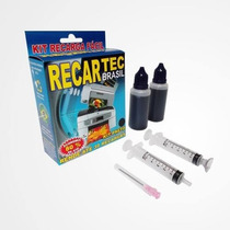 Kit Recarga Cartucho Preto E Color Hp 21 122 60 662 93 901