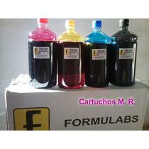 4 Litros Tinta Formulabs Corante Para As Hp Pro 8100 E 8600