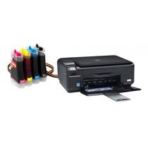 Bulk Ink Para Impressora Hp C4480 Com Presilhas Especiais
