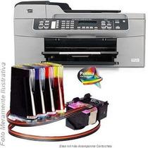 Bulk Ink Para Impressora Hp J5780 Com Presilhas Especiais