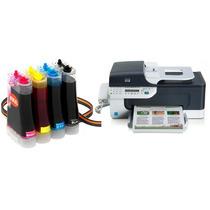 Bulk Ink Para Impressora Hp J4660 Com Presilhas Especiais