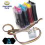 Bulk Ink Com Anti Refluxo E Tintas Para Impressora Hp C3180
