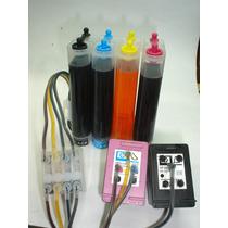 Bulk P/ Hp3050 Hp2050 Hp1000 Hp 2000 Com Valvula Antirefluxo