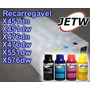 Cartucho Recarregável Pro X451 X476 X576 Hp 970 971 C/tinta