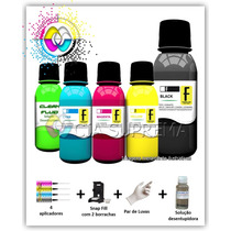 1200ml Kit Tinta Formulabs Recarga Cartuchos Hp + Snap Fill