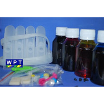 Bulk Ink + 400ml De Tinta Para Hp Officejet J4680 4500