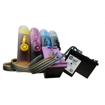 Bulk Ink Impressora Hp2546 - Hp1516 C/ Tinta E Cartucho