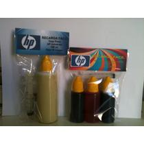 Recarga Fácil Corante Hp Universal Kit 04 Cores