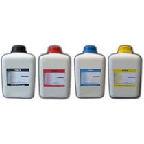 4 Litros - Kit Tinta Recarga Cartuchos Hp Lexmark Canon