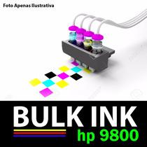Sistema Tanque De Tinta P/ Impressora Multifuncional Hp 9800