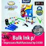 Bulk Ink Para Impressora Hp C4580 + 400ml De Tinta + Brinde!
