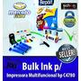 Bulk Ink Para Impressora Hp C4780 + 400ml De Tinta + Brinde!