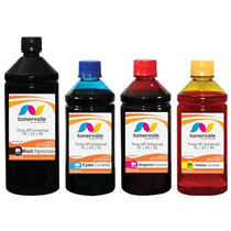 Kit 4 Tinta Para Cartucho Hp 74 92 94 C4480 C3180 2500ml