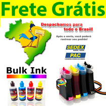 Bulk Ink Hp 1315 + Tinta Alemã + Presilha Especial + Frete!