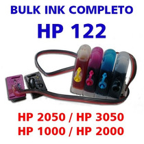 Bulk Ink C/ Cartucho Hp122 Completo - Hp 2050/3050/1000/2000