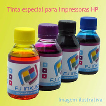 Tinta Corante P/ Recarregar Cartuchos E Bulk Ink Hp - 400ml