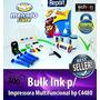 Bulk Ink Para Impressora Hp C4480 + 400ml De Tinta + Brinde!