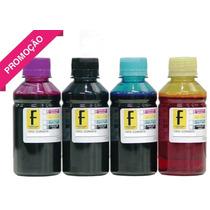 1 Litro Tinta Recarga Cartucho Impressora Hp Canon Formulabs