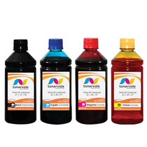 Kit 4 Tinta Para Cartucho Hp 21 27 56 F4180 2510 1315 500ml