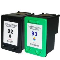 Kit De Cartucho Compatível Hp 92 E 93 100% Importado