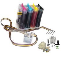 Bulk Ink P/ Hp J4660 Com Anti-refluxo, Acessórios E Tintas