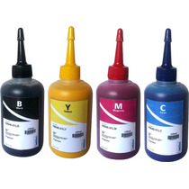 4 Refil 100 Ml Tinta Pigmentada Inktec Hp 6830/6230