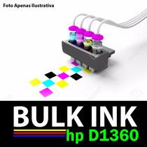 Sistema Tanque D Tinta P/ Impressora Multifuncional Hp D1360