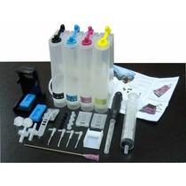 * Bulk Ink Para Impressoras Hp Officejet 4500 Com Tinta !!!