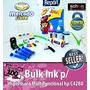 Bulk Ink Para Impressora Hp C4280 + 400ml De Tinta + Brinde!