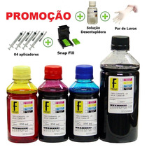 1350ml Tinta Recarga Cartucho Hp + Snap 662 122 901 74 60 Xl