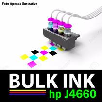 Sistema Tanque D Tinta P/ Impressora Multifuncional Hp J4660